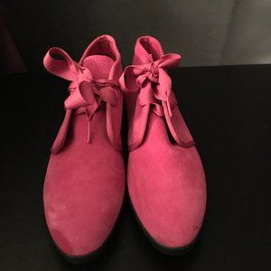 Punch Drunk 90s KEDS pink Suede Ankle Boots